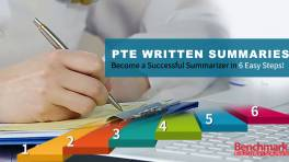 PTE Written Summaries