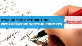 StepUp Your PTE Writing with Creative Writing Prompts
