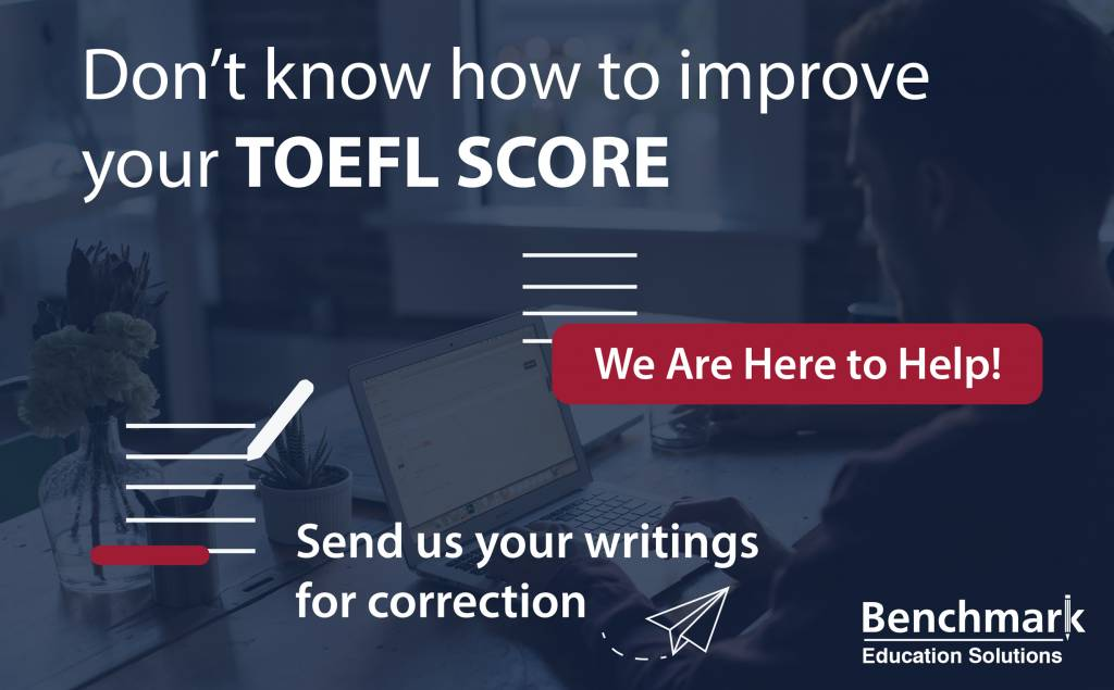 TOEFL writing correction service