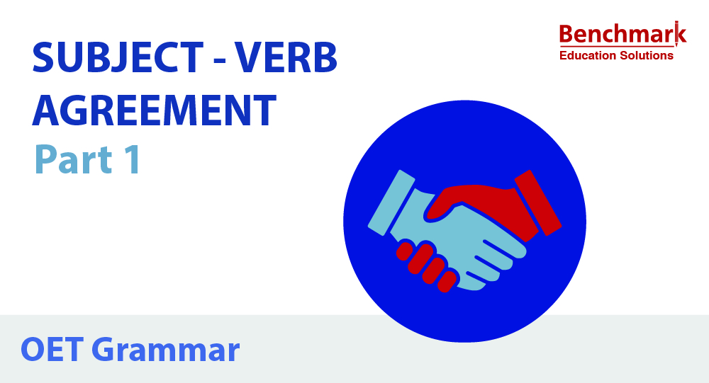 OET Writing Tips Subject Verb Agreement Part 1