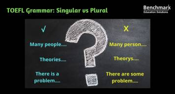 How singular vs plural can lower your TOEFL score